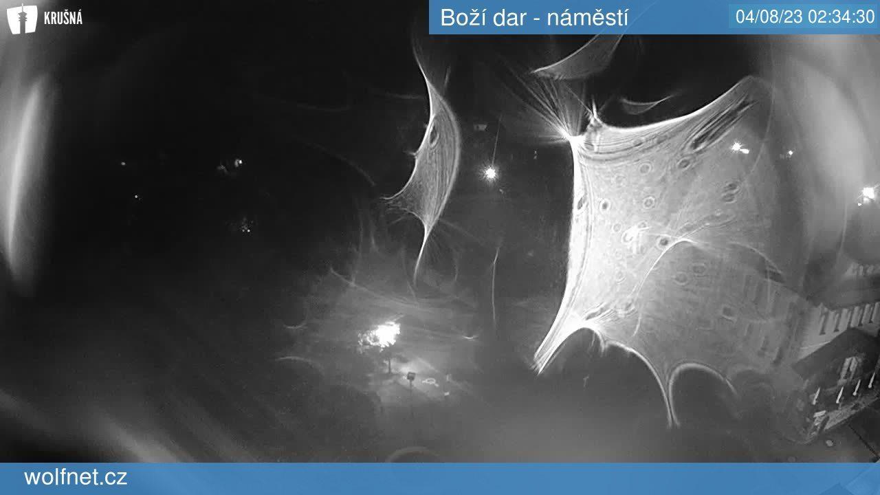 Webkamera Boží Dar - náměstí