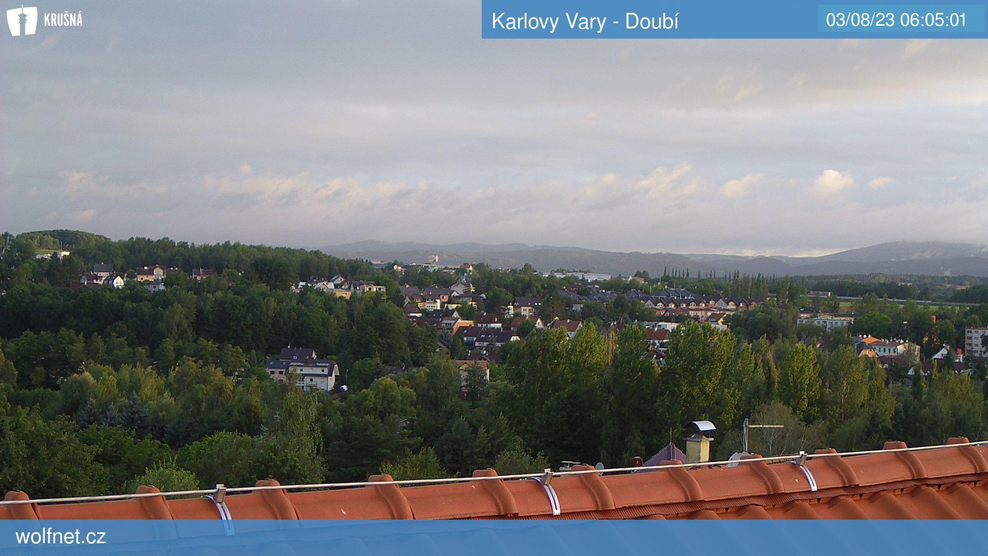 Webkamera Karlovy Vary - Doubí