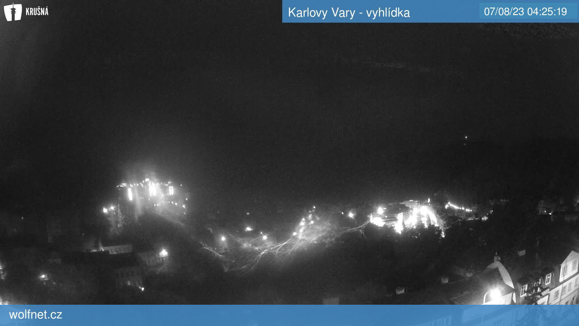 Webkamera KV - vyhlídka
