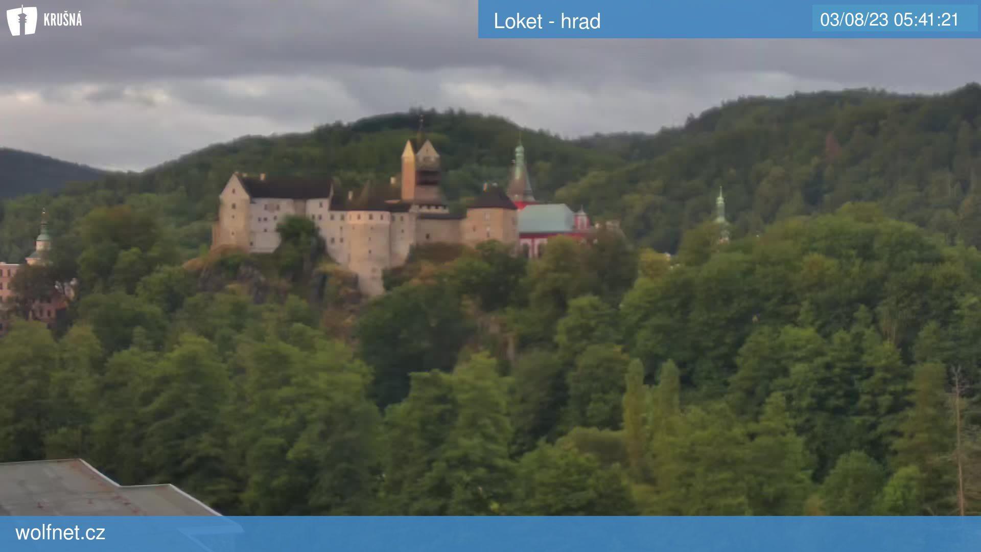 Webkamera Loket - hrad