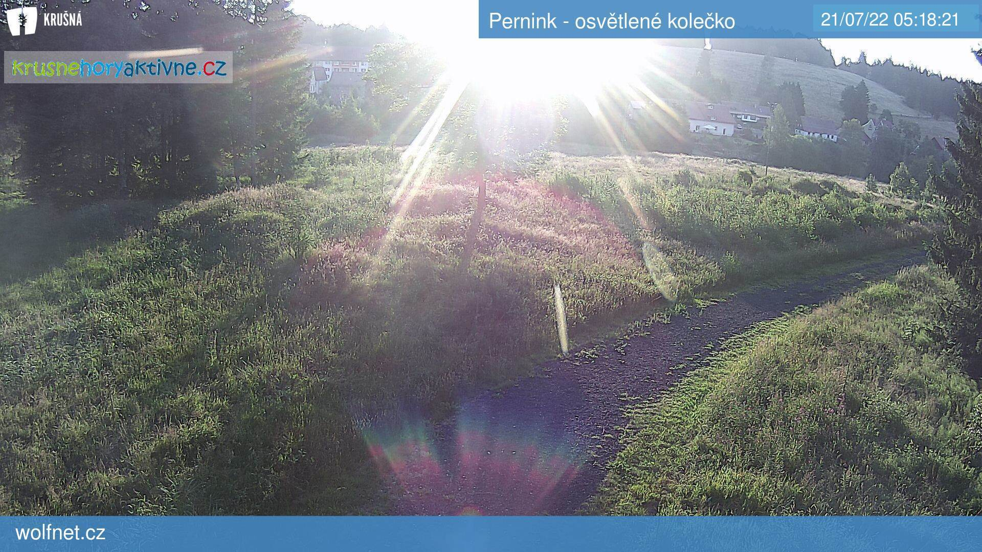Webkamera Pernink - běžkařská dráha