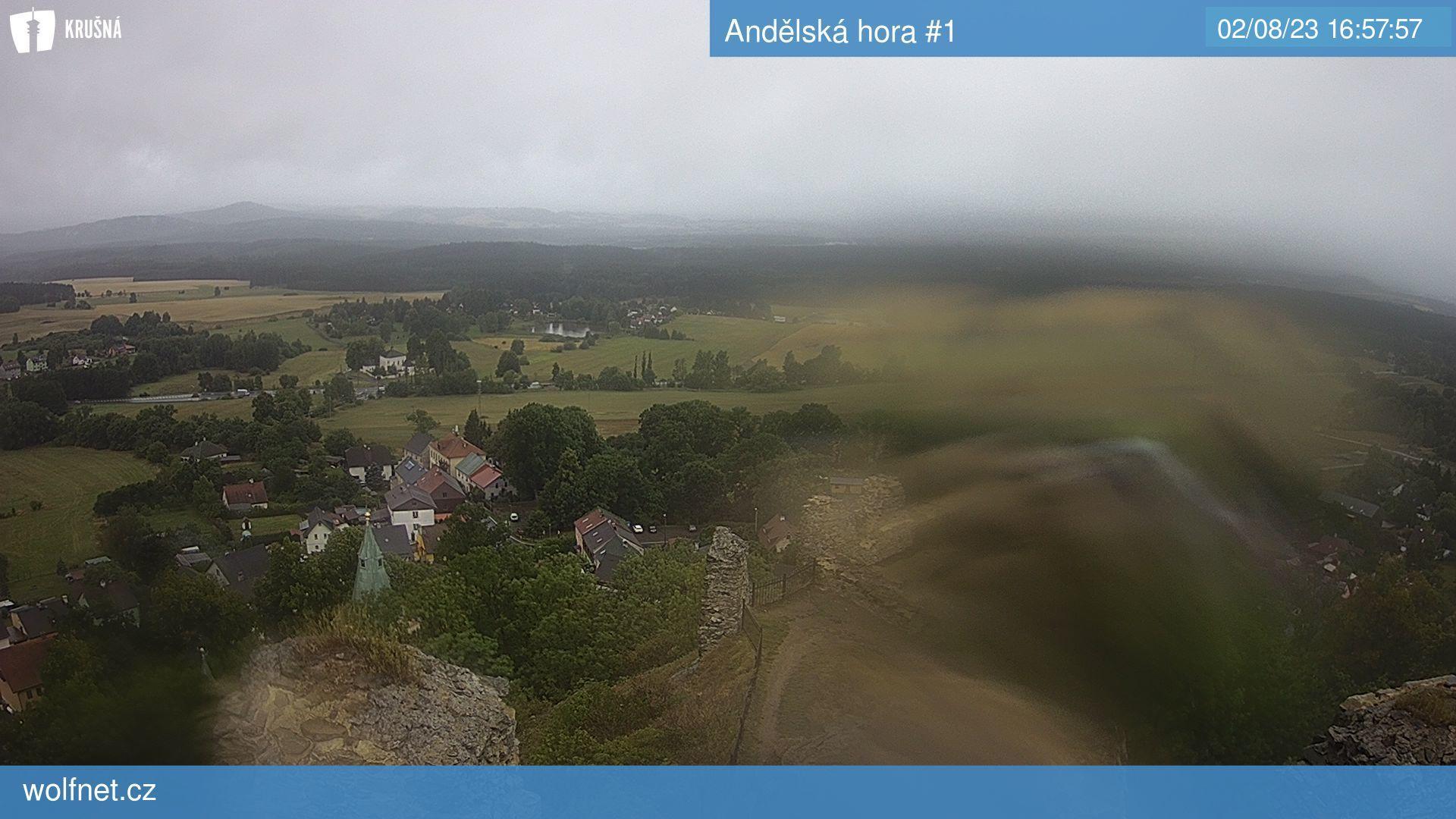 Webkamera Andělská hora #1