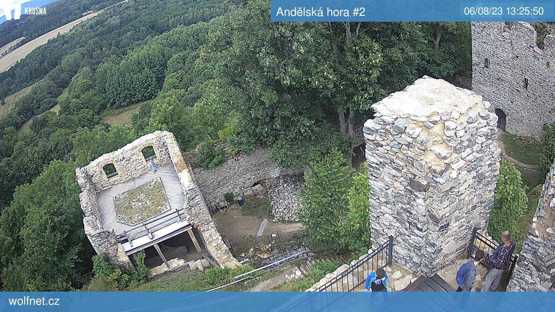 Webkamera Andělská hora #2
