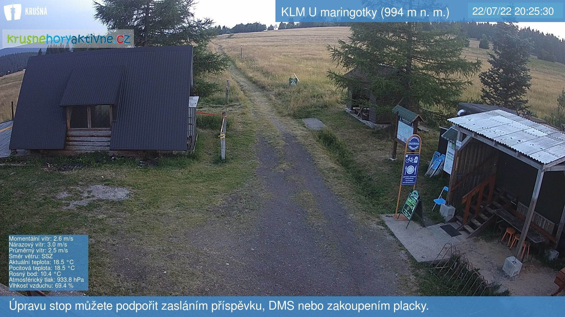 webkamera U Maringotky