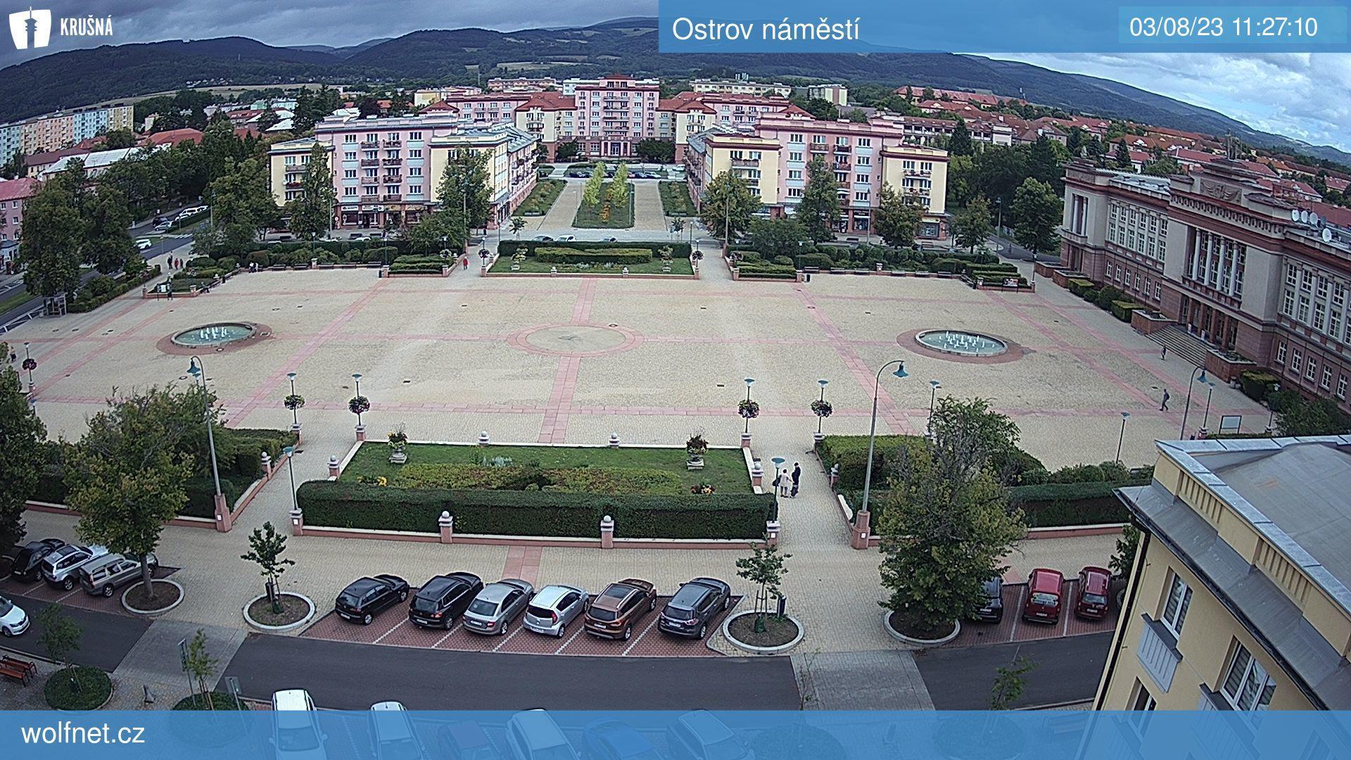 Webkamera Ostrov-namesti